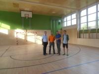 Sanierung Turnsaal Hauptschule Neulengbach